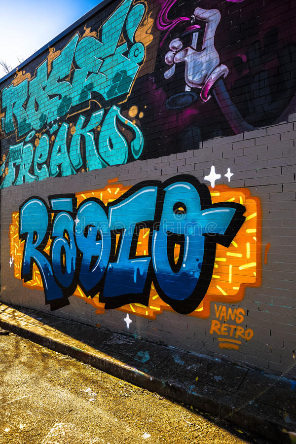 Graffiti Photography royalty free stock photo