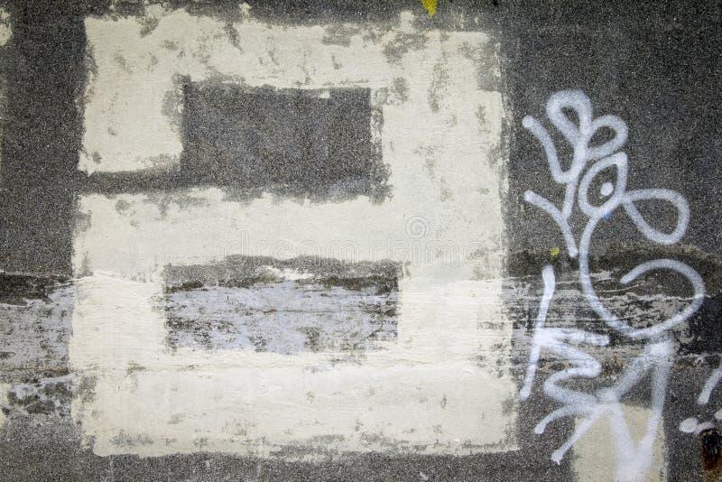 Graffiti piszą list a obrazy royalty free