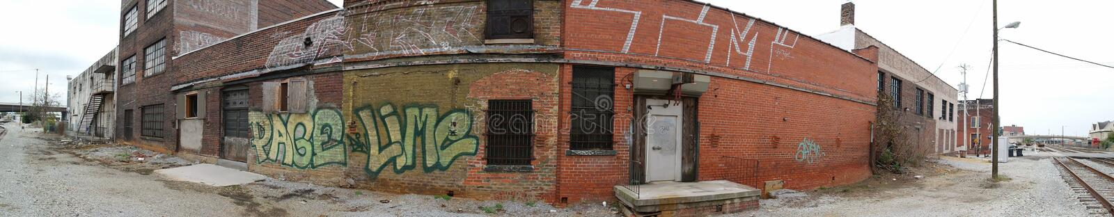 Graffiti a real problem in most towns stock images