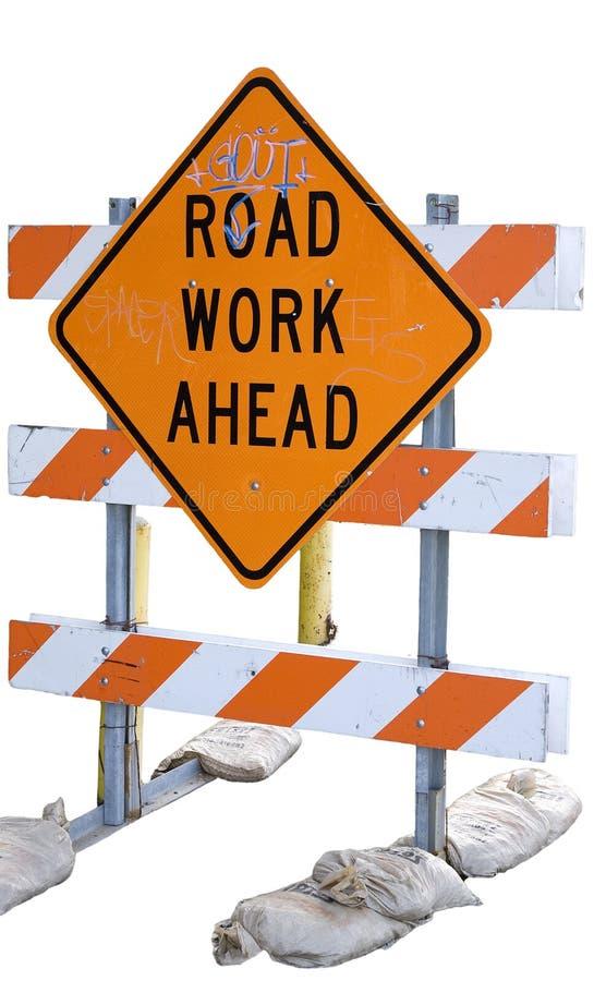 Download Graffiti road work stock illustration. Image of illustration - 7706204