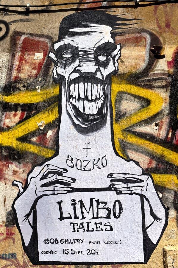 Graffiti in Sofia stock photo