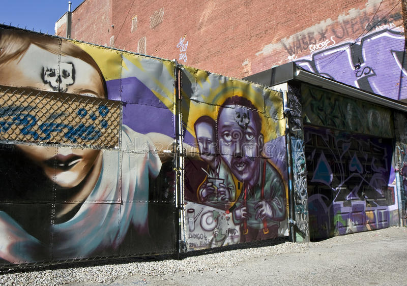 Download Graffiti street art editorial stock image. Image of vandalize - 28383354