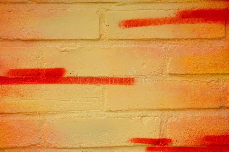 graffiti sur le plan rapproché de mur images stock