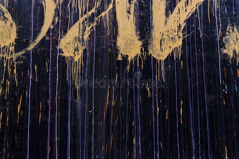 Graffiti sur un mur images stock