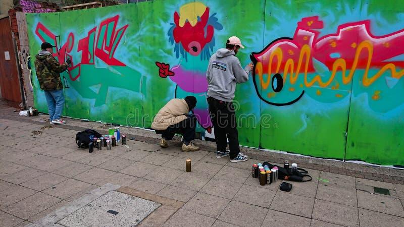 Graffiti sztuka zdjęcie royalty free