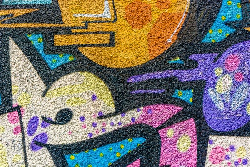 Graffiti tekstury szczegółu tło obraz royalty free