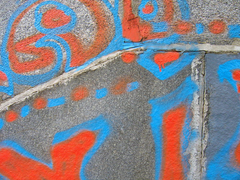 Graffiti.Texture stock image