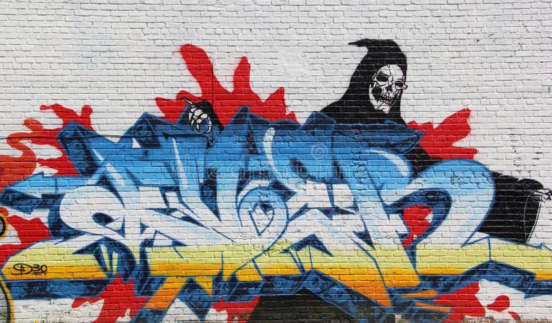Graffiti urbain image libre de droits