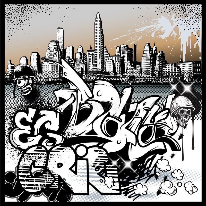 Graffiti Urban Art Elements Stock Vector