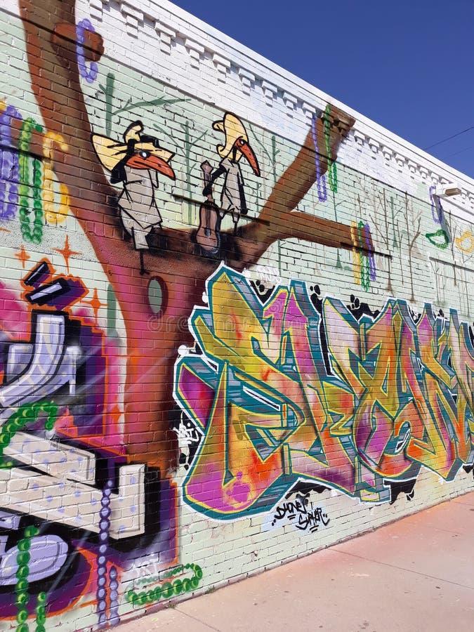 Graffiti. Urban art spraypaint cool graffiti royalty free stock photography