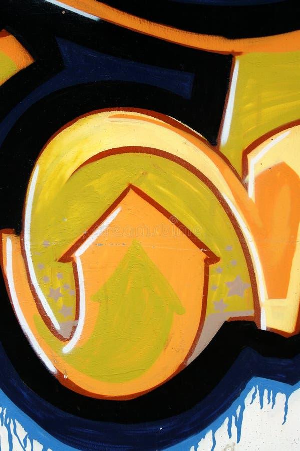 Graffiti urbani illustrazione vettoriale