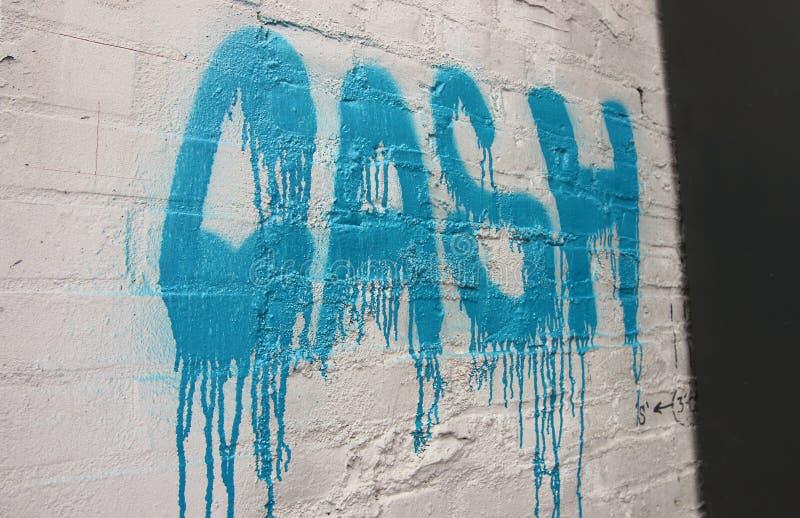 Graffiti van binnen de Noord-Portland, Oregon stock foto