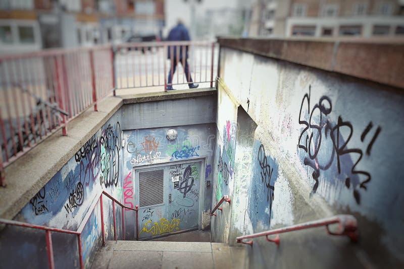 Graffiti. Vandalism street spray spraypaint streetart royalty free stock photography