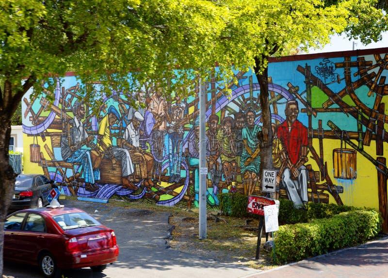 Graffiti w Mały Hawańskim obraz royalty free