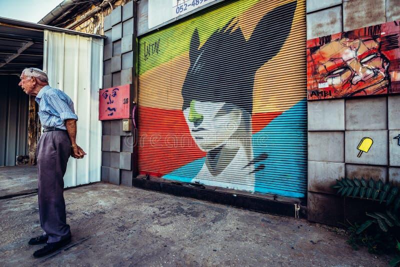 Graffiti w Tel Aviv obrazy royalty free