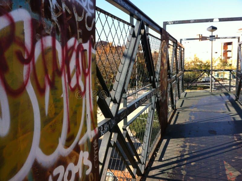Graffiti w ulicach obraz royalty free