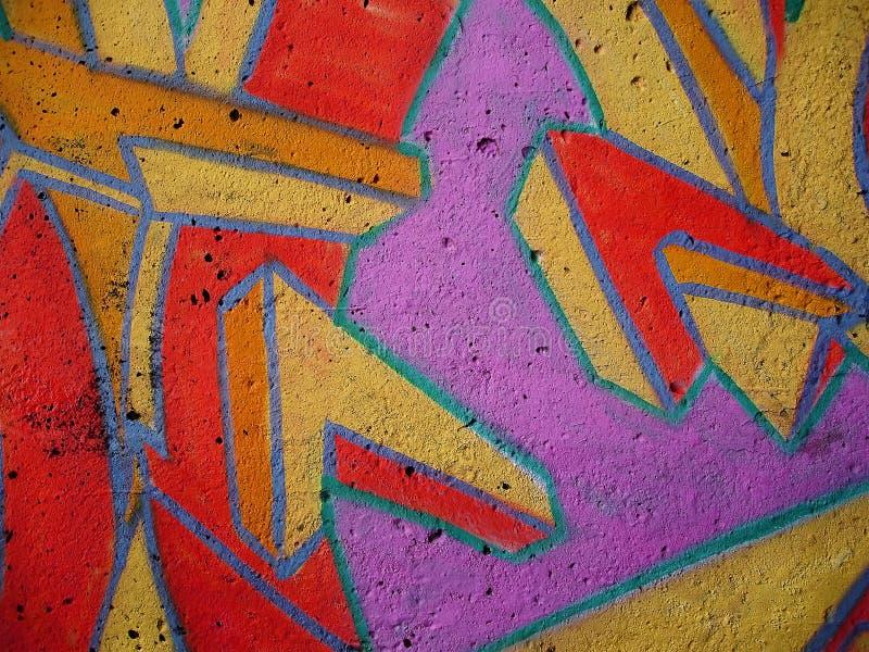 Graffiti wall. Close up stock photography