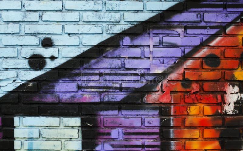 Graffiti wall background. Abstract nice royalty free stock photos
