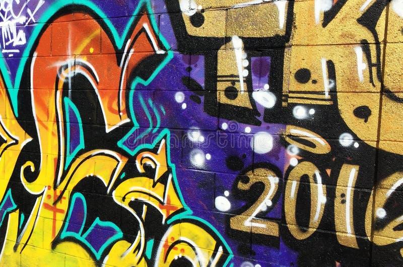 Graffiti Wall. royalty free stock photo