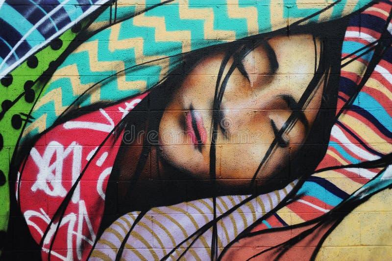 Graffiti Wall. royalty free stock photography