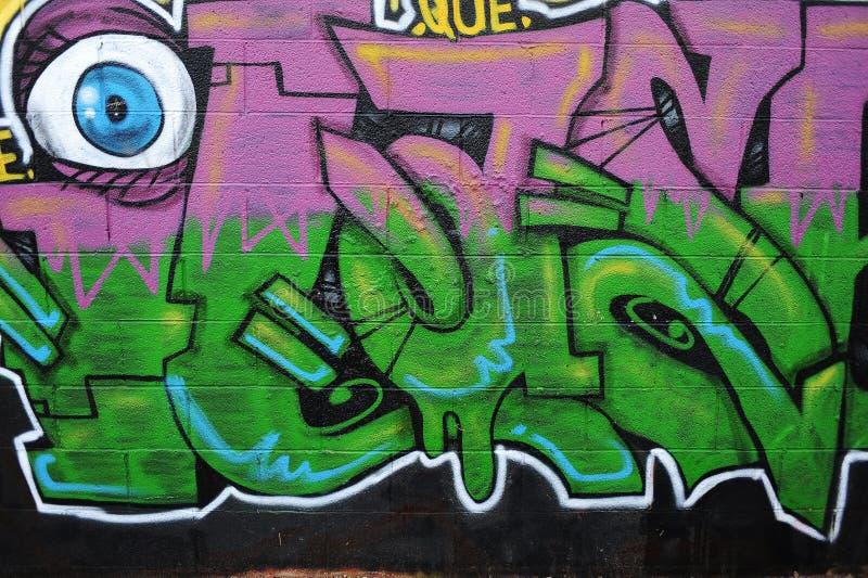 Graffiti Wall. royalty free stock image