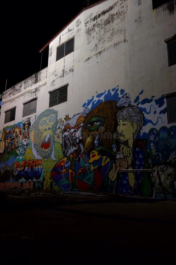 Graffitiart stockfotos