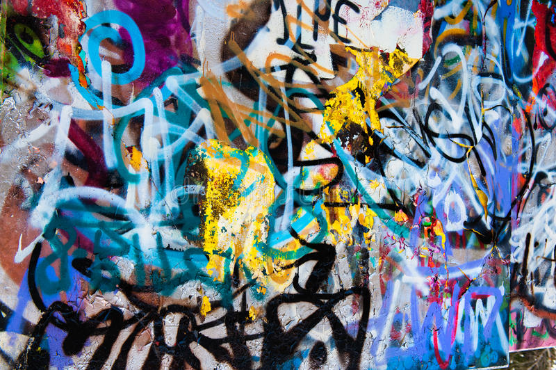 Graffitihintergrund stockfoto