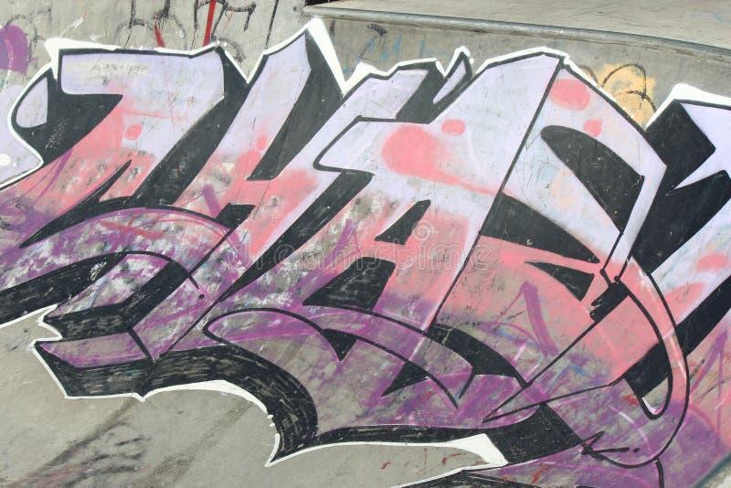 Graffitiontwerp royalty-vrije stock afbeeldingen