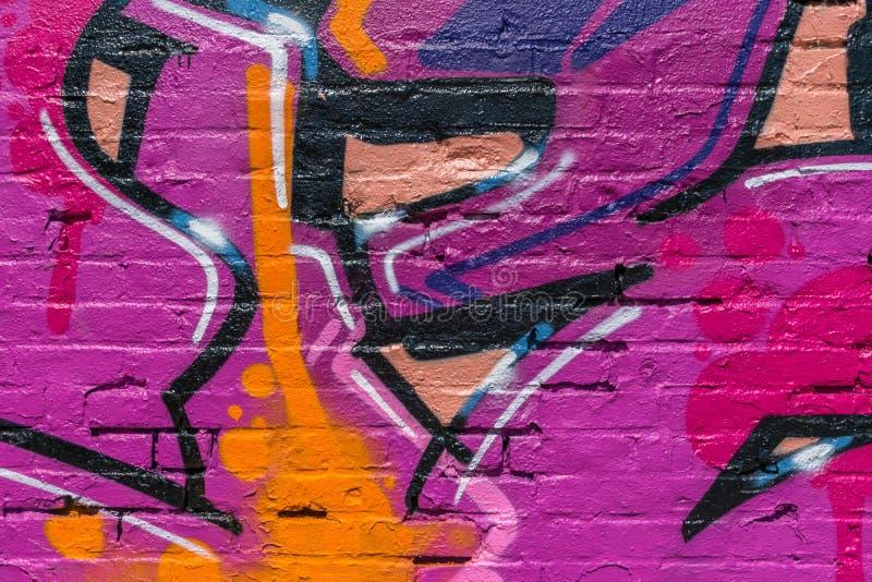 Graffitiwereld stock illustratie