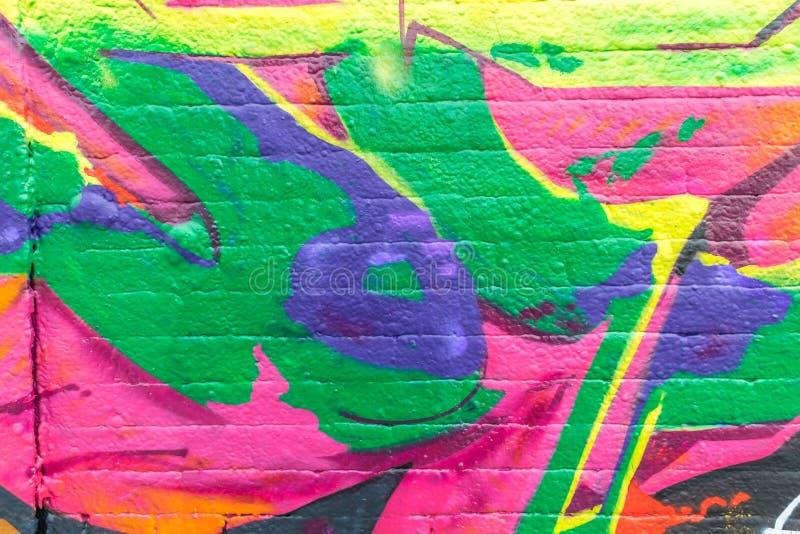 Graffitiwereld vector illustratie