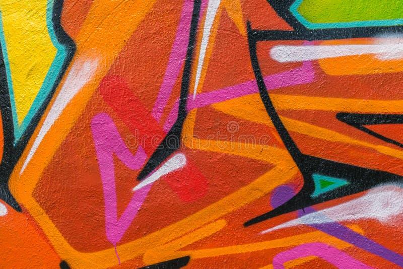 Graffitiwereld royalty-vrije illustratie