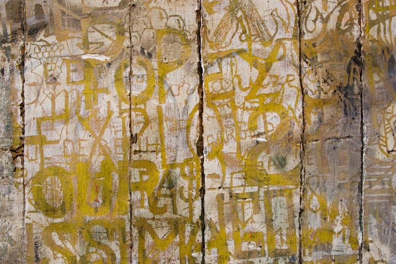 Graffito2 francês imagens de stock