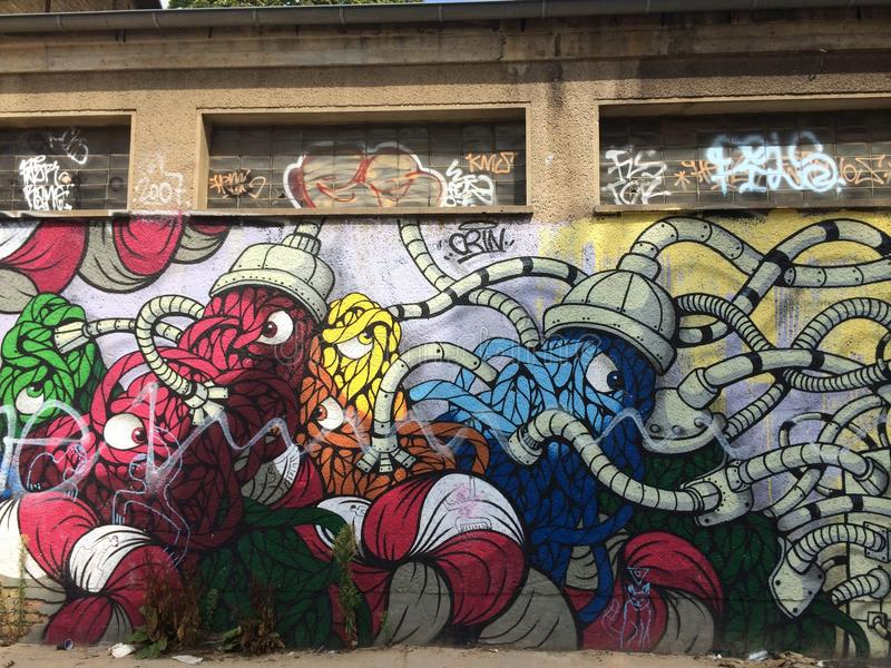 Graffitti foto de archivo libre de regalías