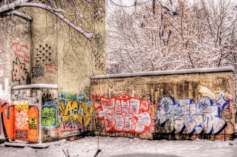 Graffitti immagine stock