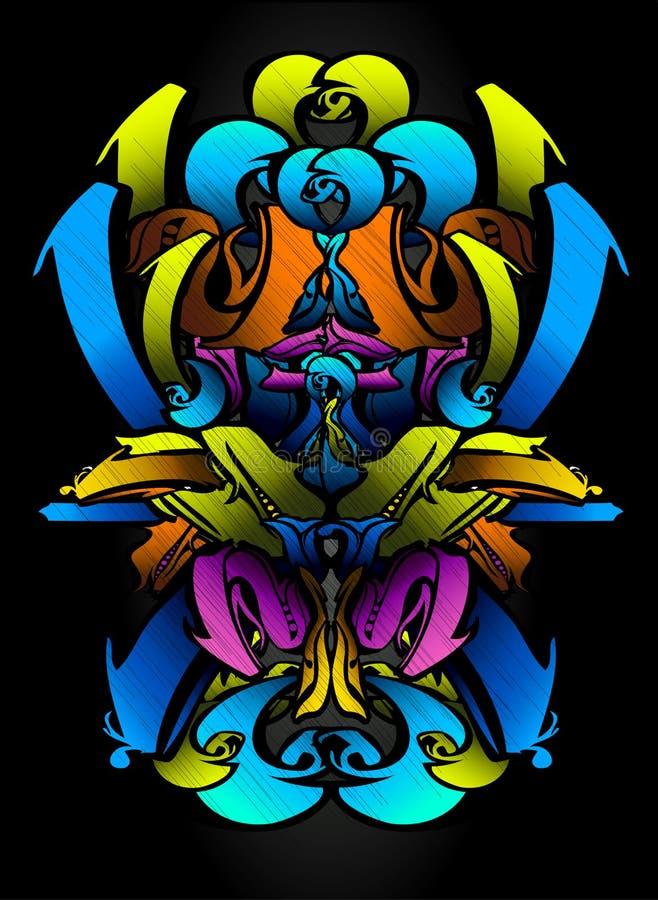 Free Graffitti Sketch In Vibrants Colors Stock Photos - 15056363