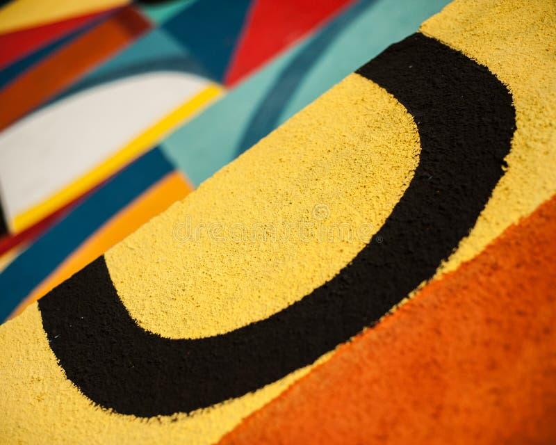 Download Graffity - minimalisme image stock. Image du fonte, figure - 76082207