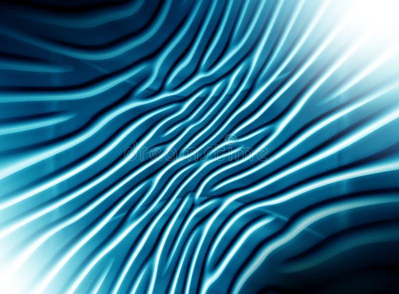 Grafici blu astratti del fondo di incandescenza per progettazione illustrazione vettoriale