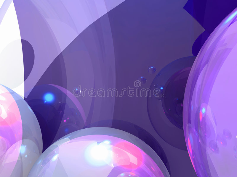 Grafici pieni di bolle illustrazione di stock