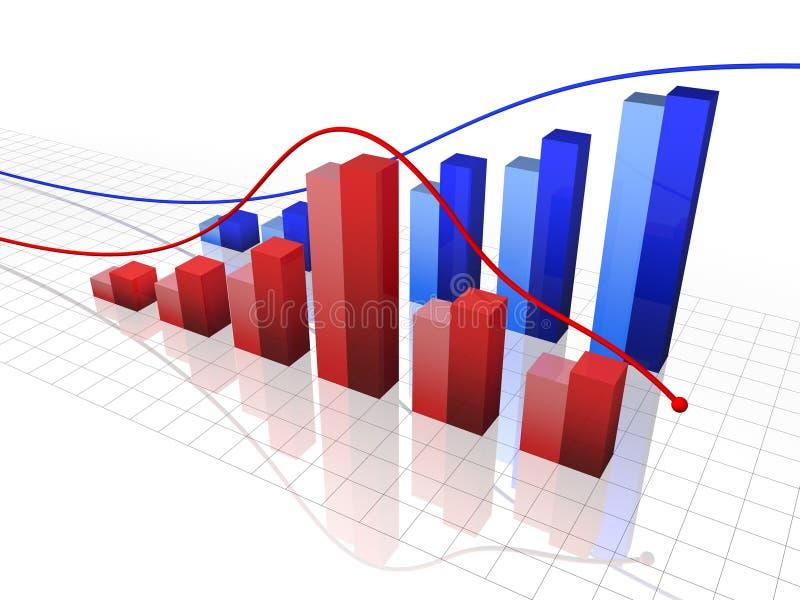 Grafico illustrazione vettoriale