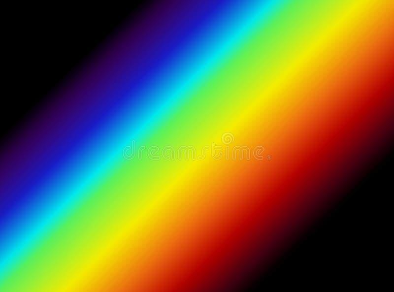 Grafico chiaro di spettro illustrazione vettoriale