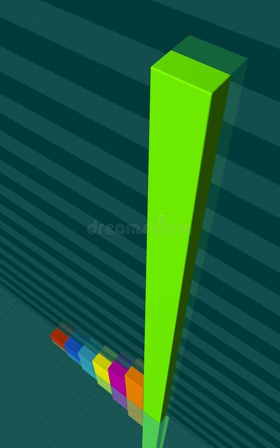 Grafico commerciale 3 royalty illustrazione gratis