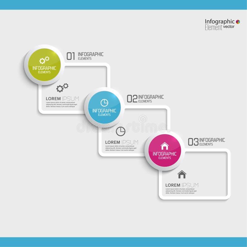 Grafico comparativo con i modelli per la presentazione royalty illustrazione gratis