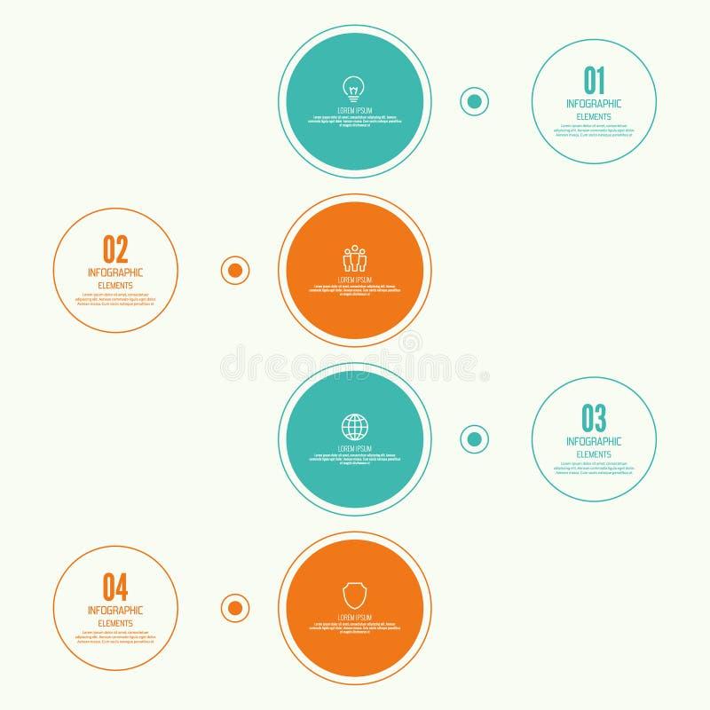 Grafico comparativo con l'insegna royalty illustrazione gratis
