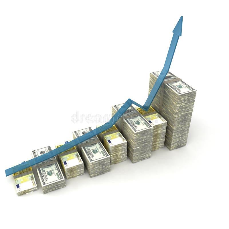 Grafico dei soldi royalty illustrazione gratis