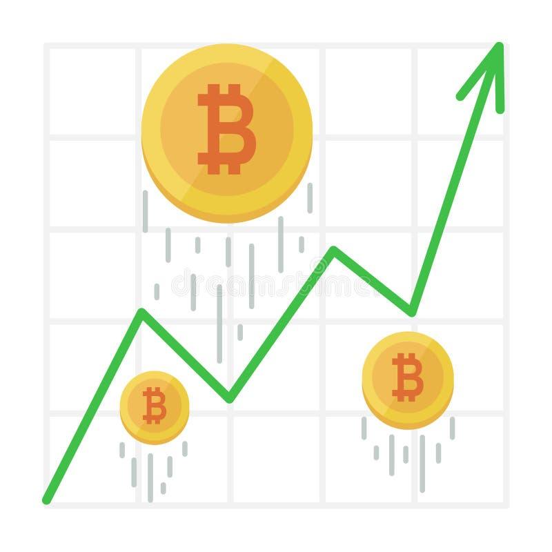 commercio grafico bitcoin