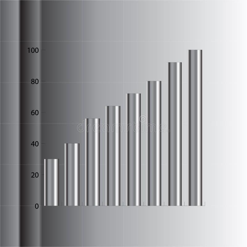 Grafico del tubo illustrazione vettoriale