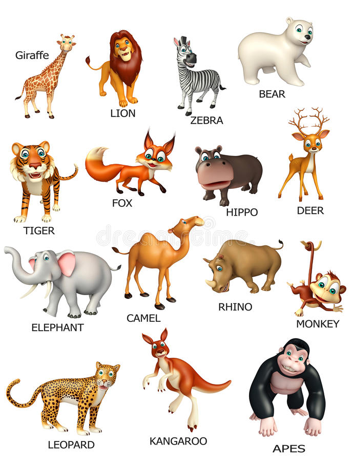 grafico dell'animale selvatico royalty illustrazione gratis