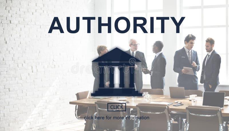 Grafico della colonna di legge dell'autorità governativa immagine stock
