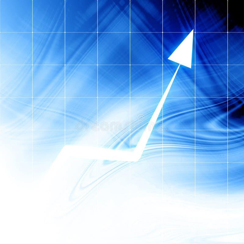 Grafico della freccia illustrazione di stock