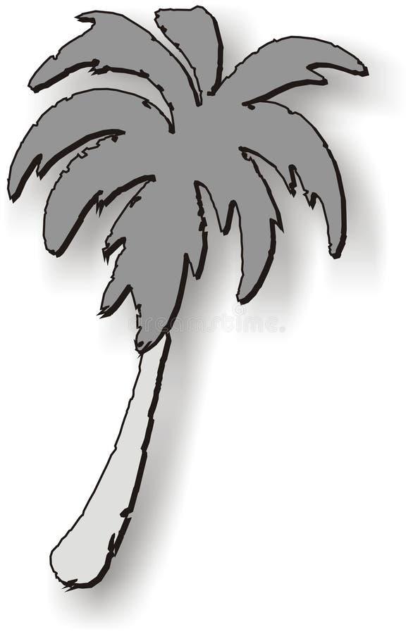 Grafico della palma illustrazione vettoriale